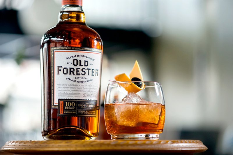 Old forester and Korbel Lounge