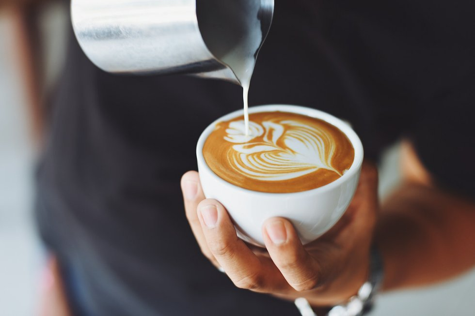 Perfect cup for latte art