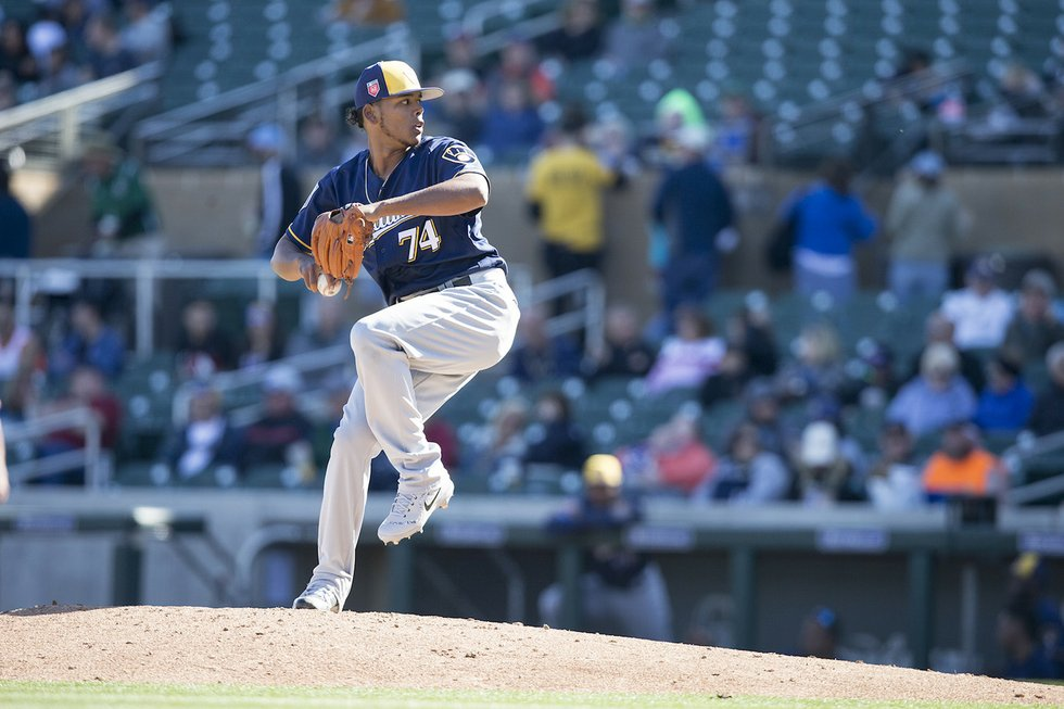 Freddy Perralta to make another start for the Brewers on Saturday