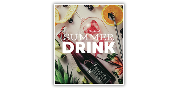 Summer Drink Guide 2018 cover