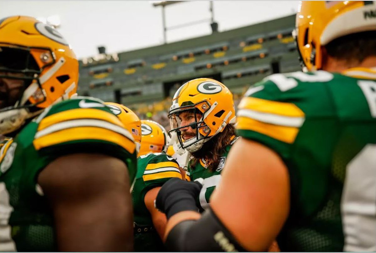 Packer Preview  A One Year Rebuild Makes the Packers Instant Super Bowl  Favorites - Shepherd Express 2a2bb986a