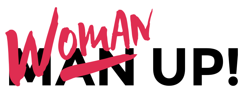 Woman Up logo