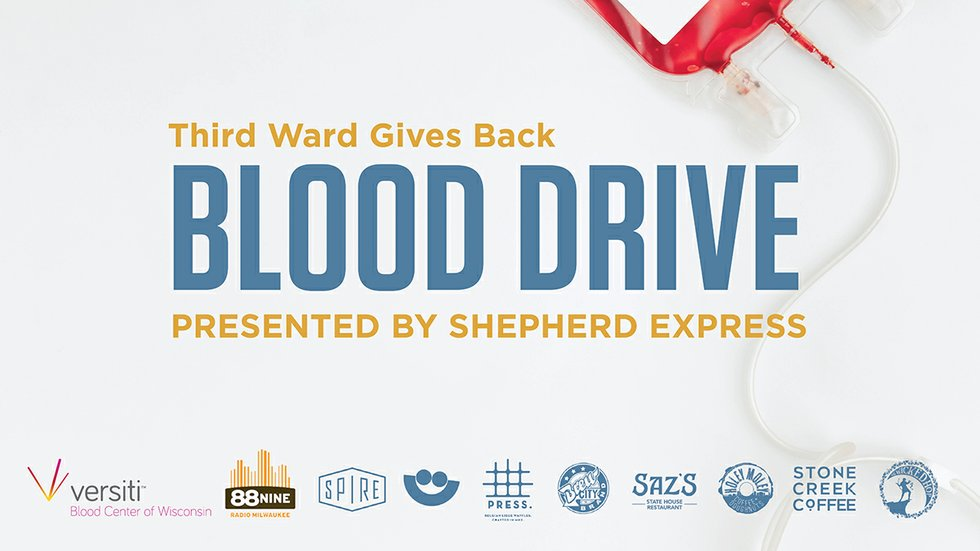 Blood Drive header image