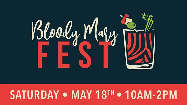Bloody Mary Fest Cover Image with Date