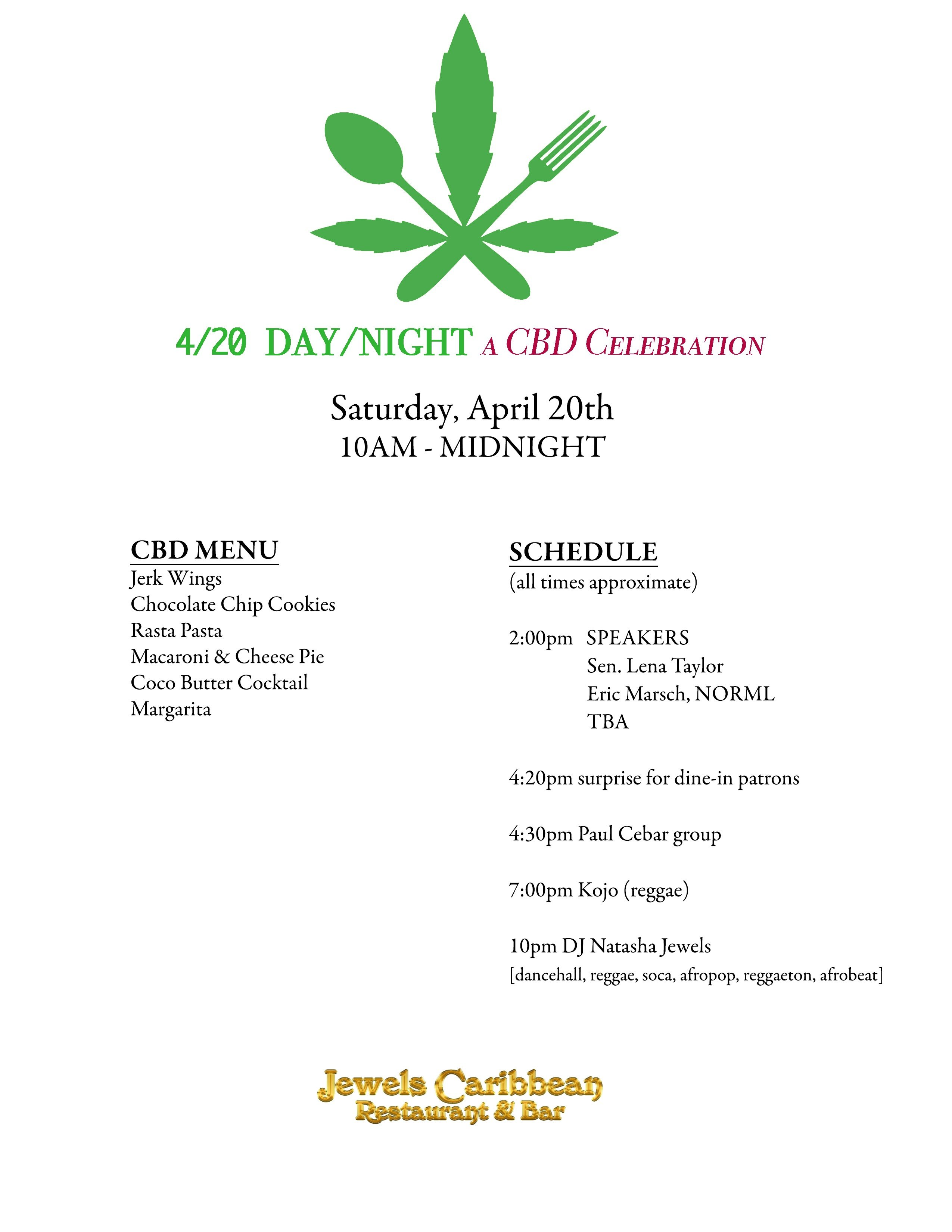 4/20 Day/Night: A CBD Celebration - Shepherd Express