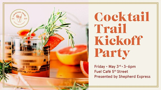 Cocktail Trail Kickoff Party header