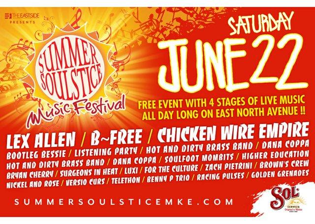 Summer Soulstice Music Festival (12pm) - Shepherd Express