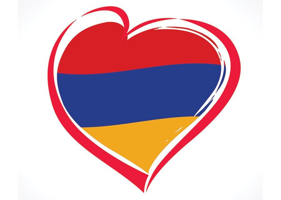 президента с днем рождения армянский флаг первом этаже