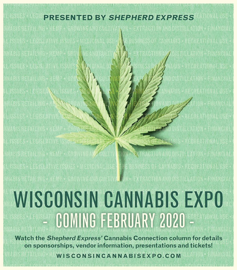 WI Cannabis Expo flyer