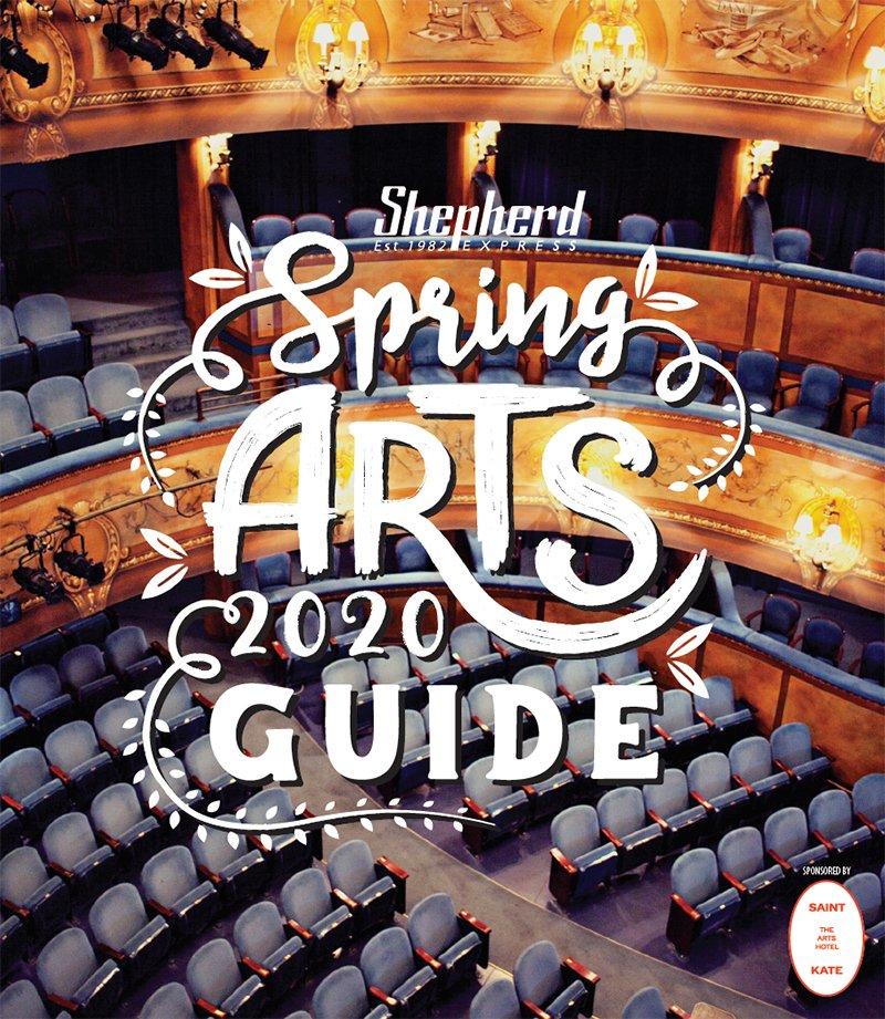 2020 Spring Arts Guide cover art