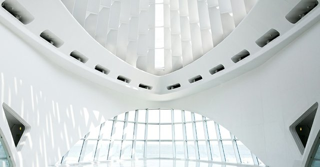 Windhover Hall at the Milwaukee Art Museum.