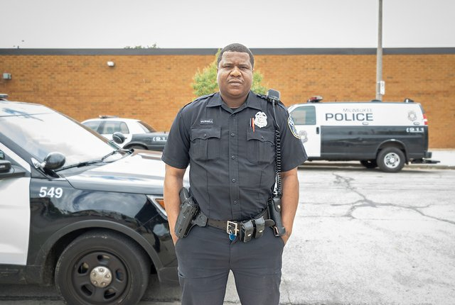 Police Officer Lawson Murrell  Milwaukee by Tom Jenz.jpg