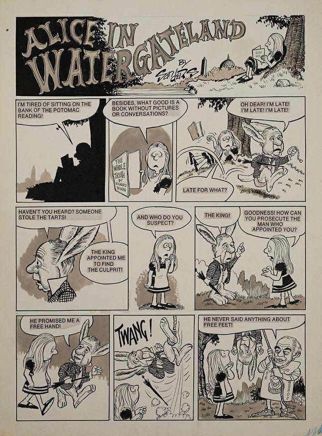 culture_MOWA_Bill Sanders - Alice in Watergateland Comix Book(MOWA).jpg