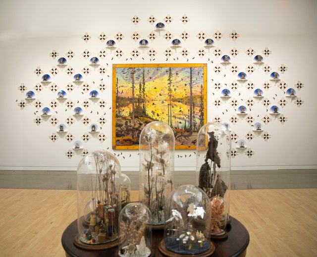 VisualArts_(Jennifer Angus, _Still Lives,_ 2020. Bell jars with insects and plants.).jpg