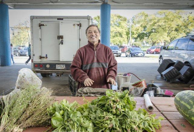 Ser Thauo Hmong Gardner Fondy Market  Milwaukee  photo by Tom Jenz.jpg