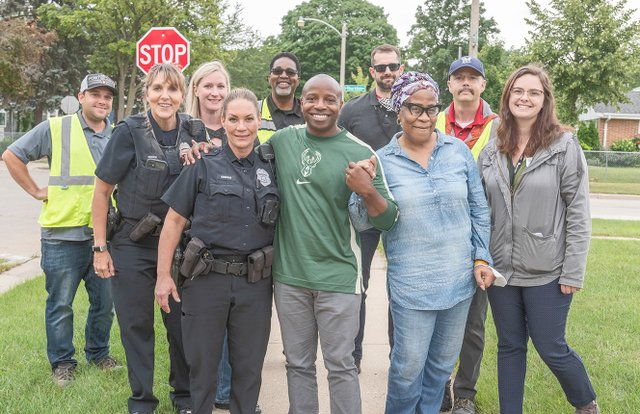 Alderman Cavalier Johnson Tanya Sheriff & City Staff Members Milwaukee  photo by Tom Jenz.jpg