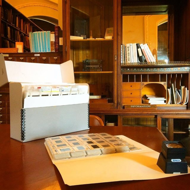 Lyle Oberwise slide collection