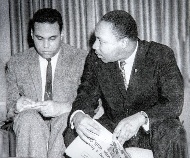 Dick Carter with Martin Luther King